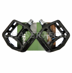 "Wellgo MG-1 BMX Bicycle Magnesium Pedals 9/16"" Black"