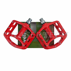 "Wellgo MG-1 BMX Bicycle Magnesium Pedals 9/16"" Red"