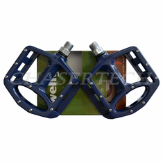 "Wellgo MG-1 BMX Bicycle Magnesium Pedals 9/16"" Blue"