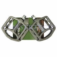 "Wellgo MG-1 BMX Bicycle Magnesium Pedals 9/16"" Gray"