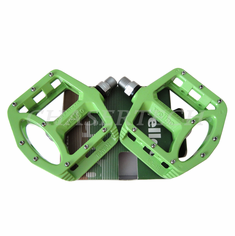 "Wellgo MG-1 BMX Bicycle Magnesium Pedals 9/16"" Green"