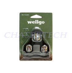 Wellgo RC-7C Pedal Cleats 0 Deg Fixed Look Keo Compatible Black