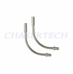 Bicycle Stainless Steel V-brake Cable Noodle Guide 90 Deg Pair