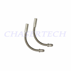 Bicycle Stainless Steel V-brake Cable Noodle Guide 110 Deg Pair