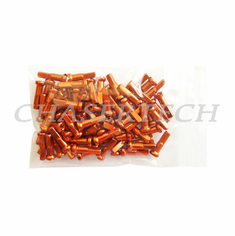 "Bicycle 7075 Alloy Spoke Nipples 2.0mm 14G 5/8"" 100 Pcs Orange"