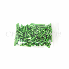 "Bicycle 7075 Alloy Spoke Nipples 2.0mm 14G 5/8"" 100 Pcs Apple Green"