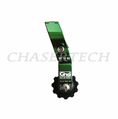 Bicycle Alloy Chain Tensioner Green