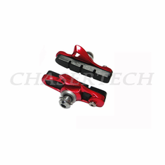 Road Bicycle Caliper Cartridge Brake Pads Shoes Red 1 Pair