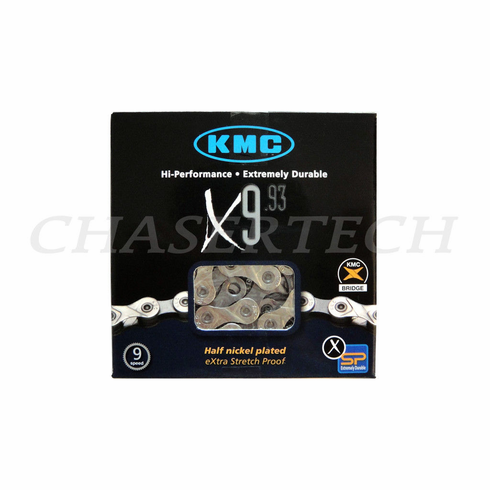 KMC X9.93 Bicycle 9 Speed Chain Shimano Compagnolo SRAM Rohloff Gear
