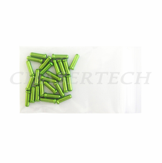 Bicycle Brake Cable End Cap 25 Pieces Apple Green