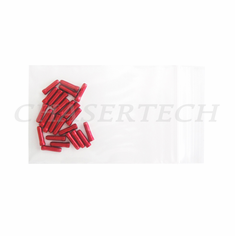 Bicycle Derailleur Cable End Caps 25 Pieces Red