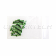 Bicycle Derailleur Cable End Caps 25 Pieces Dollar Green