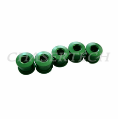Bicycle Alloy Single Speed 6.5mm Chain Ring Bolt Nut Set Green