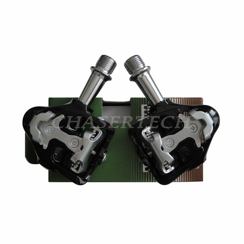 Wellgo MG-8 Magnesium Road Bicycle Clipless Pedals Cr-Mo Axle Black