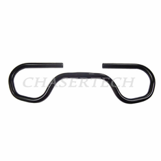 Uno Comfort Touring Bicycle Butterfly Handlebar 570mm Black