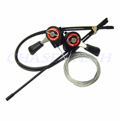 Sunrace SLM10 MTB Bicycle Friction Shifters w/ Cable & Housing Set
