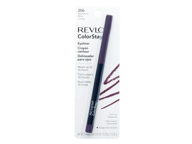 Revlon ColorStay Eyeliner with SoftFlex, Blackberry 206