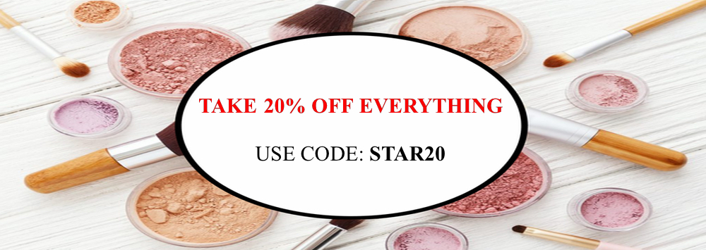20% Off All Orders! Use Code STAR20