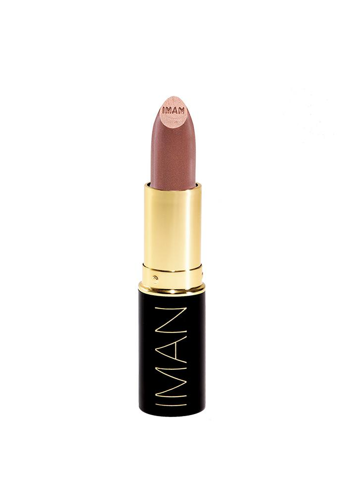 IMAN COSMETICS Luxury Moisturising Lipstick - Sheer Iced Tea