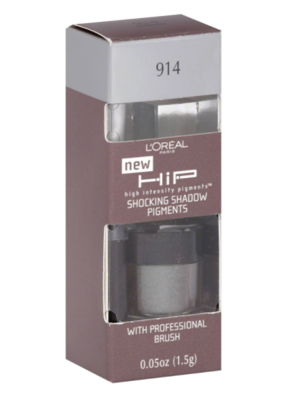 L'OREAL Paris HIP Shocking Shadow Pigments -  Intrepid 914,  0.05 Oz (1.5g)