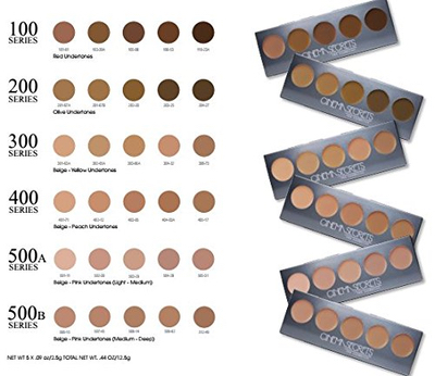 CINEMA SECRETS Ultimate Foundation 5-in-1 Pro Palette™ - 300 Series