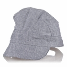 Alvin's Blue Chambray Hat for Baby Boys - 42 cm