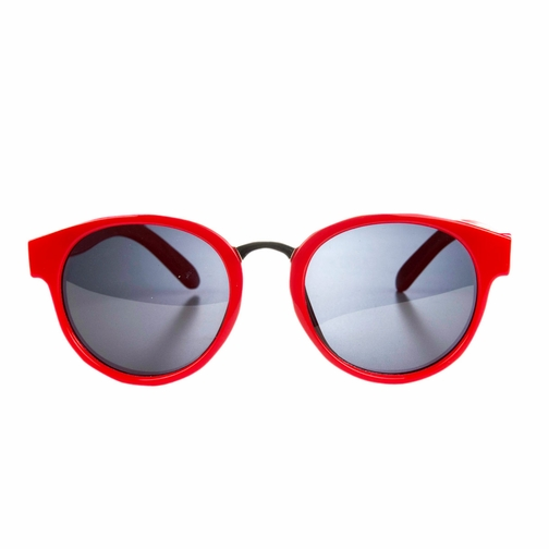 Polarized Red Vintage Style Toddler Sunglasses