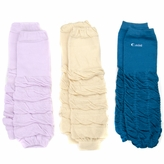 Aubrey's Solid Color Baby Leggings Set of 3 - Tan, Lavender, Turquoise