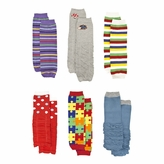 Baby Leg Warmers Set of 6: Corey's Colorful Baby Leggings