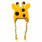 Giraffe Beanie - Baby Boy Girl Toddler (Small)
