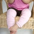 Emma's Solid Color Baby Leg Warmers Set of 3 - Hot Pink, Light Pink, White