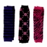 Baby Leg Warmers Set of 3 - Hailey's Punk Rock Baby Striped, Skull, Zebra