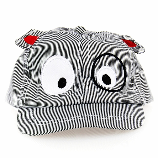 Arthur's Baby Boy Grey Puppy Dog Hat