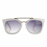Susie's Little Girl Gold Bar  UV400 Sunglasses - White