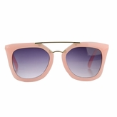 Susie's Little Girl Gold Bar UV400 Sunglasses - Pink