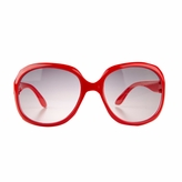 Adele's Toddler Girl Red Fashion Square Frame UV400 Sunglasses