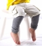 Unisex Toddler Leggings Set - Basic Colors Set of 6 Leg Warmers