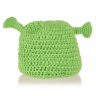 Green Ogre Beanie - Baby Girl Boy Toddler (Small)