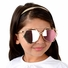 Kids UV400 Aviator Style Sunglasses with Gold Metal Frames - (ages 5+)