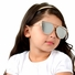 Kids UV400 Aviator Style Sunglasses with Rose Gold Metal Frames - (ages 5+)