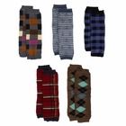 Toddler Boy Leggings - Zayden's Preppy Boy Legwarmers Set of 5