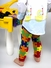 Autism Awareness Baby Leg Warmers Set of 4: Liam's Puzzle, Red, Blue, and Striped Leggings - Final Sale