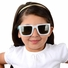 Polarized Kids Sunglasses - White/Blue Square frames (ages 3+)