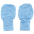 *SOLD OUT* Extra Soft Blue Baby Mittens No Scratch �- Size 0 to 6 months