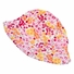 Athena's Pink Floral Sun Hat for Toddler Girls - 46 cm