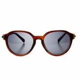 Polarized Retro style Toddler Sunglasses - Tortoise Shell