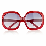 Little Girl's Fashion Sunglasses  - Red