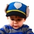 Medium Puppy Police hat - Blue Puppy Dog Hat for toddler and kid