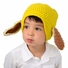 Large Puppy hat - Yellow Puppy Dog Hat with Floppy Ears