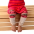 Girls Colorful Legging Trousers 3 Piece Set